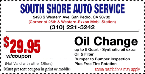 Oil Change San Pedro